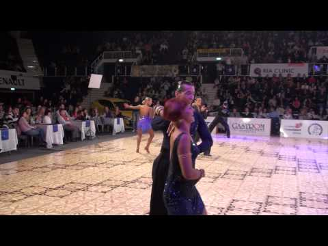 DANCE MASTERS 2011 - IDSF INTERNATIONAL ADULT OPEN LATIN - SEMIFINAL - P1
