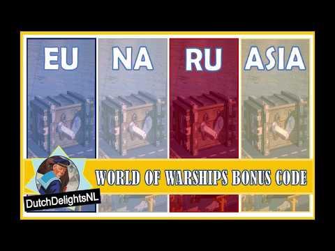 World of Warships Bonus Code - YouTube