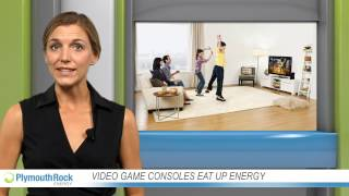 Video game consoles eat up energy