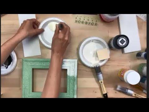 Online Class: FolkArt Chalk Paint Techniques | Michaels
