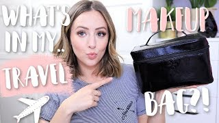 What's In My Travel Makeup Bag? 2019!
