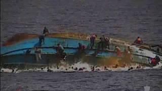 Marina Militare - Nave Bettica evento SAR 25/05/2016 ribaltamento