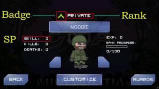 Ranks & Badges + SP | DA2 : Mini Militia