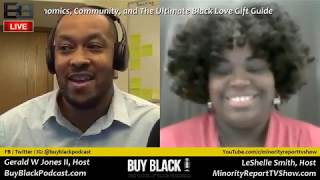 LIVE Chat: Minority Report and Buy Black Podcast