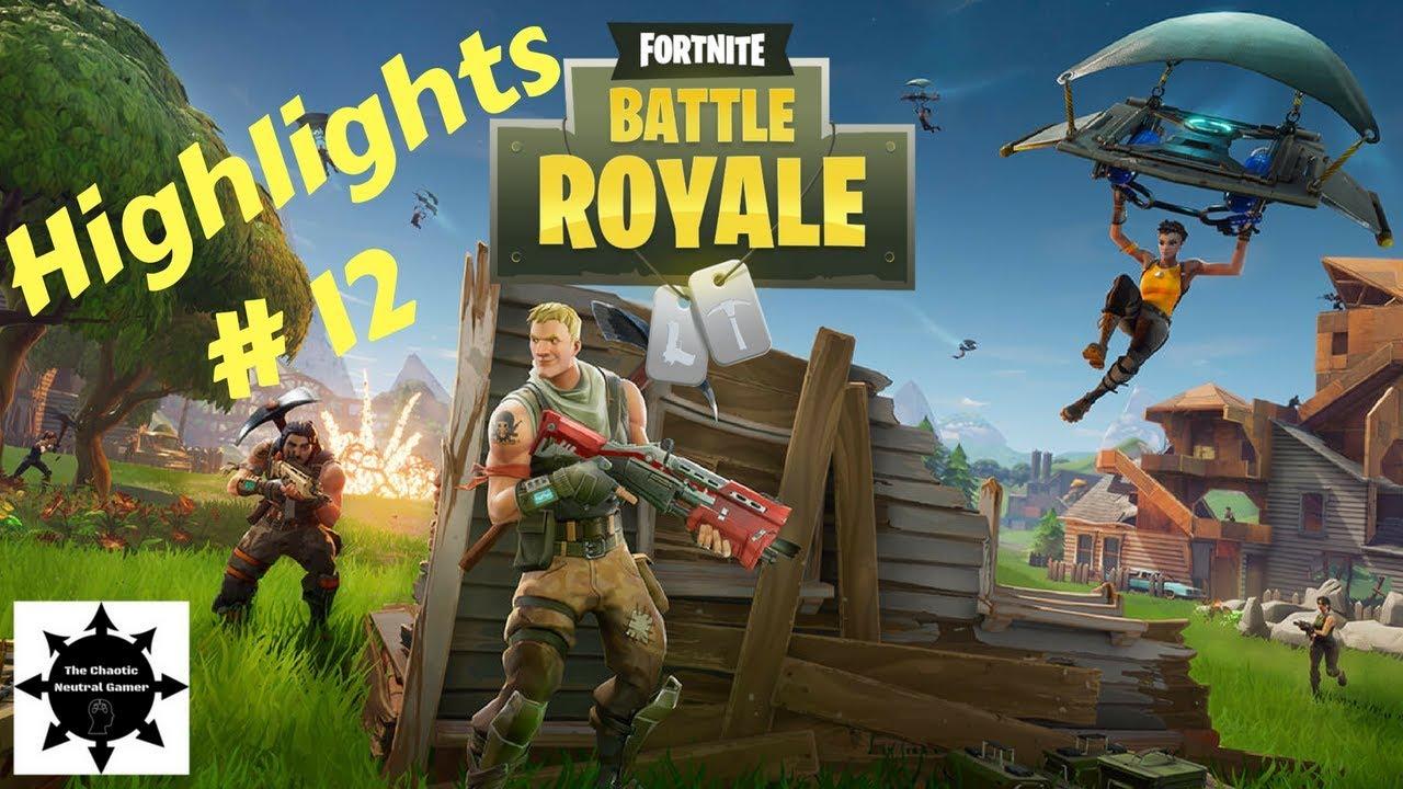 Fortnite Battle Royale PS4 Gameplay Highlights #12 Love ...