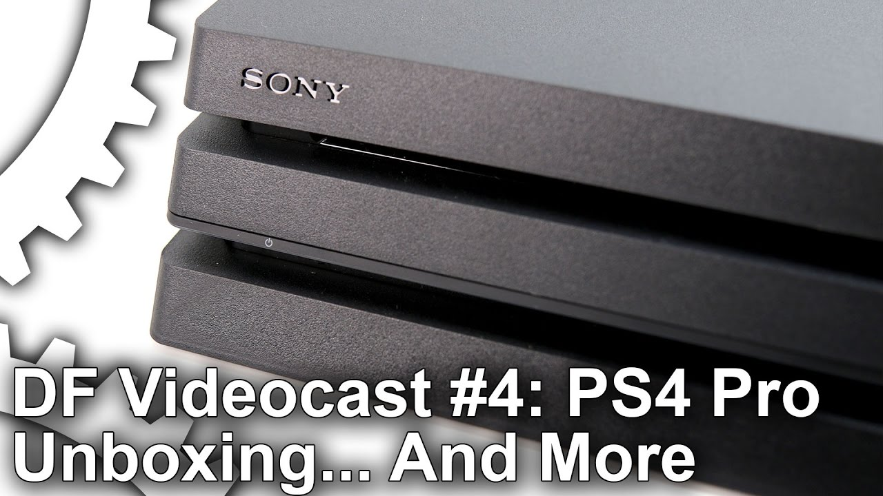 PlayStation 4 Pro unboxed - and what's next for Digital