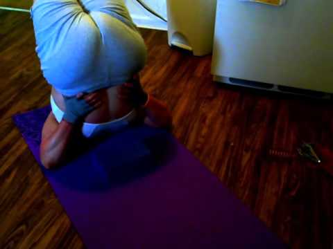 shoulder stand and back bend  youtube