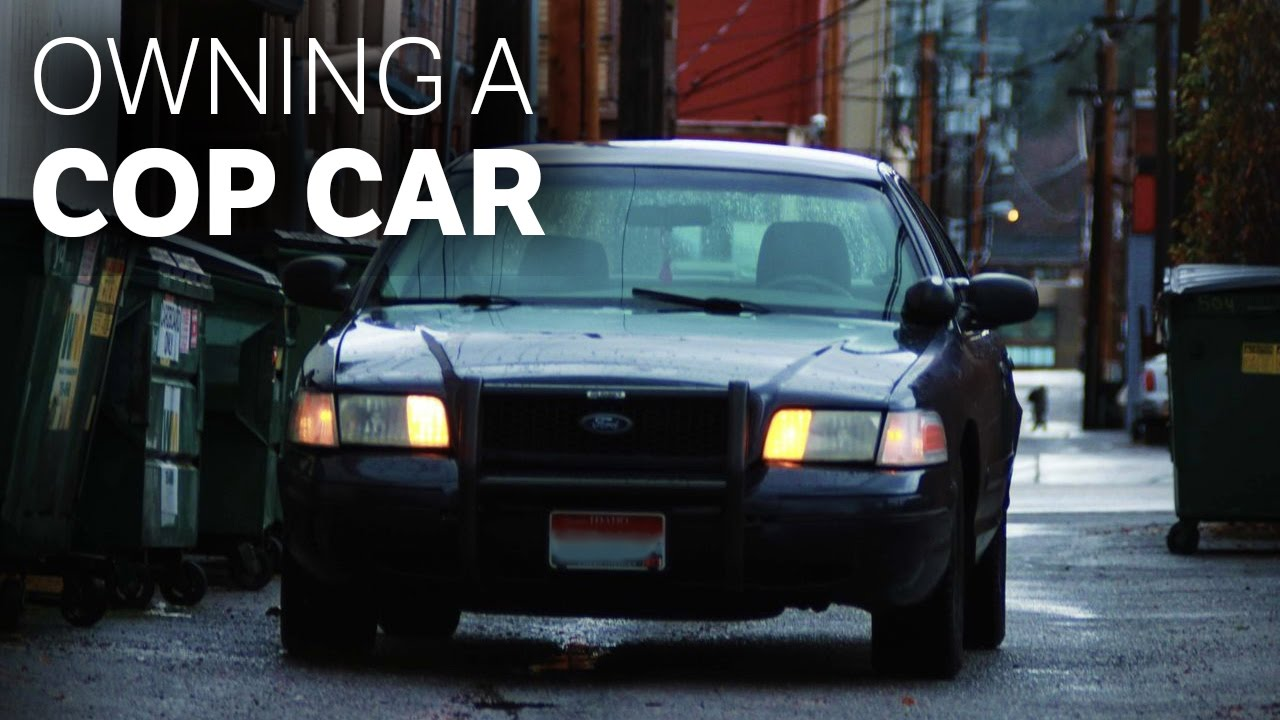 Cop Cars For Sale >> What It S Like To Own An Old Cop Car
