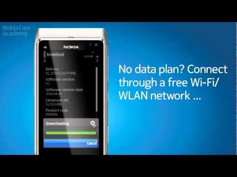 Nokia Software Update - Symbian Anna on N8 !