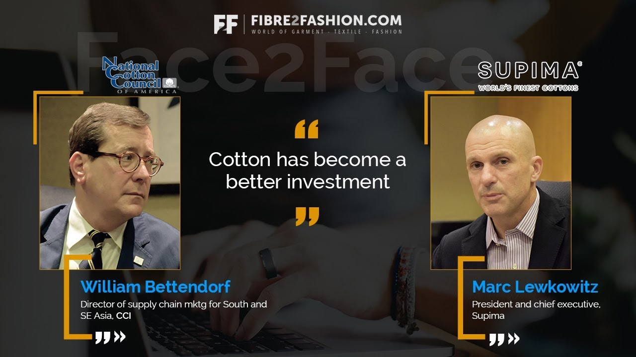 Face2Face with William Bettendorf & Marc Lewkowitz | Fibre2Fashion