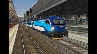 Microsoft Train Simulator - trať 321 | railjet 73 Praha - Vídeň Ep. 1