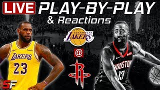 Lakers vs Rockets | Live Play-By-Play & Reactions