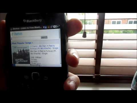 How To Download Music Onto Your BlackBerry
