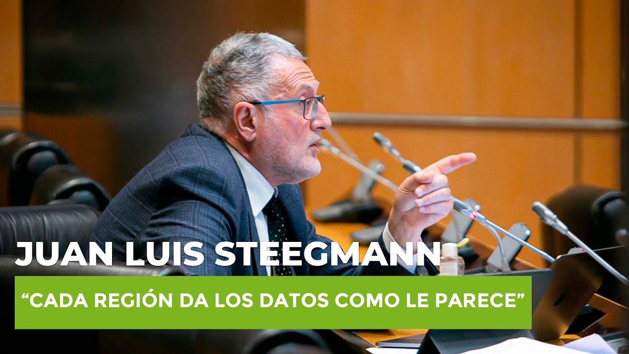 """Steegmann denuncia el caos autonómico: """"Cada región da los datos como le parece"""""""