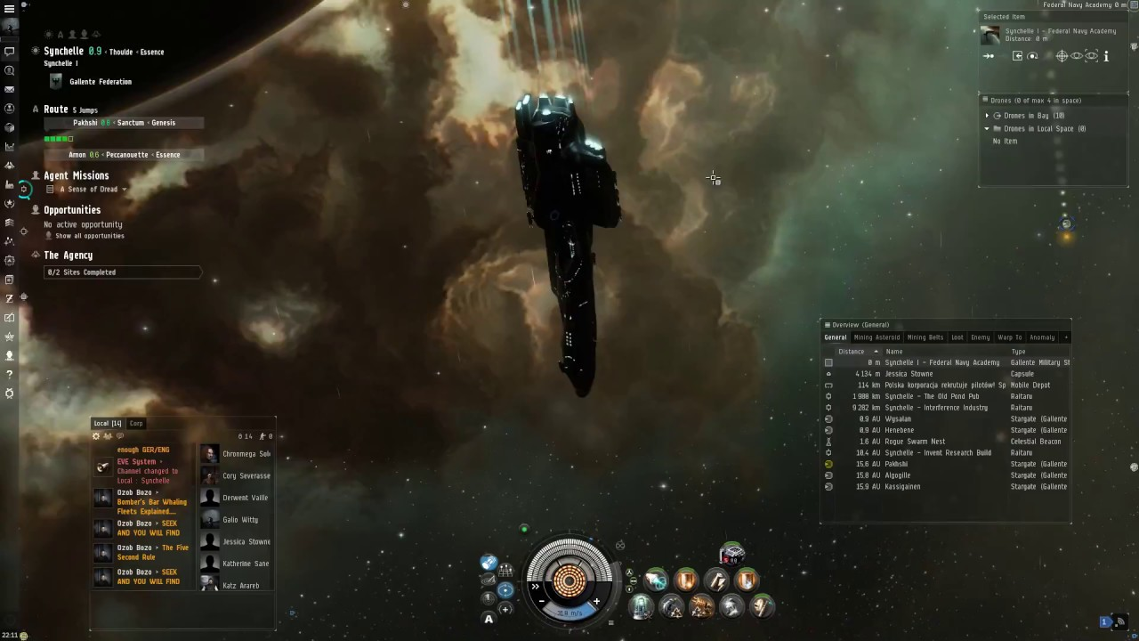 Eve Online Gameplay & Beginners Guide - Some Things To Know Before You  Start Playing (HD)