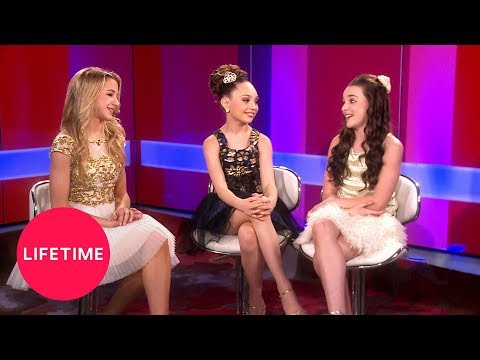 Dance Moms: Chloe, Maddie and Kendall Answer Fan Questions (Season 4 Flashback) | Lifetime