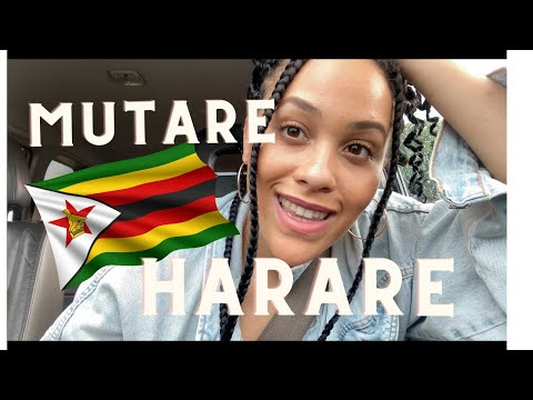 ZIMBABWE 2021 | MUTARE TO HARARE ROAD TRIP | Ruwa aliens and