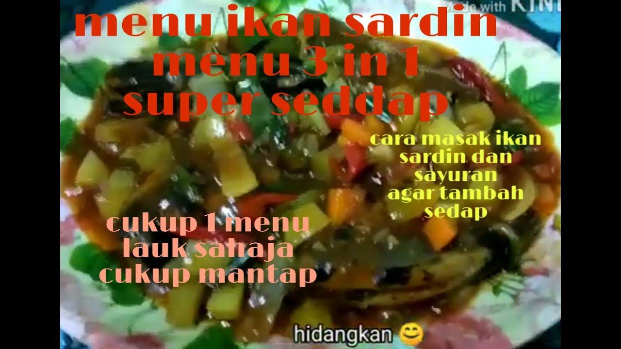 resepi  masak ikan sardin yg super enak super sedap youtube Resepi Urap Turi Enak dan Mudah