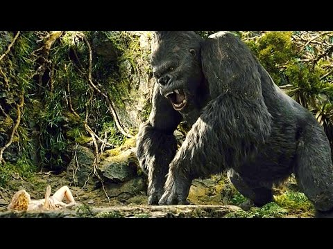 KING KONG 2005  Ann Entertains Kong   Funny Moment  Movie  1080p HD