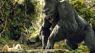 KING KONG (2005) - Ann Entertains Kong (Scene) - Funny Moment - Movie CLIP [1080p HD]