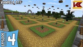 Tree Farm [But it's Manual Though] - Minecraft 1.13.2