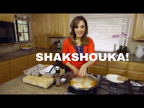 BEST MIDDLE EASTERN BREAKFAST:SHAKSHOUKA! Eggs cooked in tomatoes