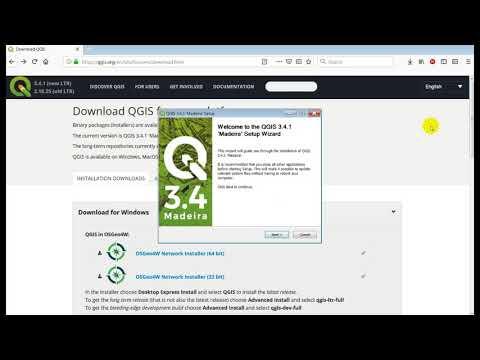 Qgis 3.4 Download & Install