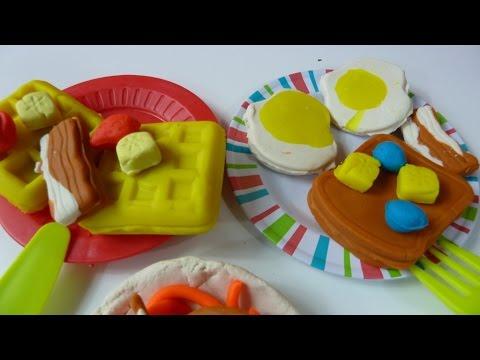 Đồ Chơi Nấu Ăn Sáng Bằng Đất Nặn Play-Doh (Bí Đỏ) Play-Doh Breakfast make Play-doh Eggs…