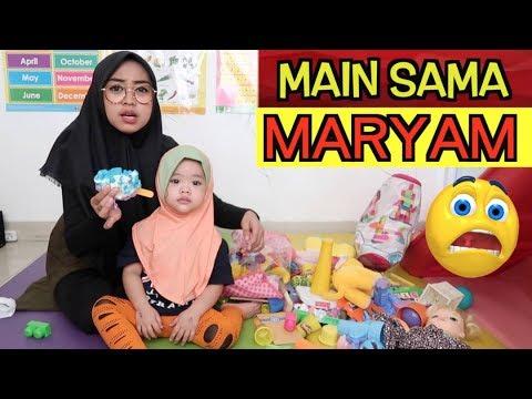 RIA RICIS JAGAIN KEPONAKAN + REVIEW MAINAN MARYAM... Sabaaarrrr