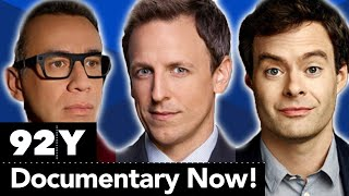 Fred Armisen, Bill Hader and Seth Meyers talk about their hit show, Documentary Now! (Full Talk)