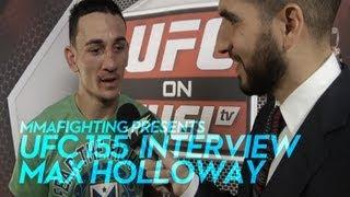 UFC 155: Max Holloway