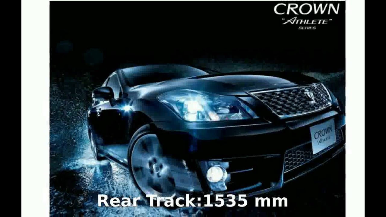 Merveilleux 2009 Toyota Crown Athlete 3.5 Specification And Specs