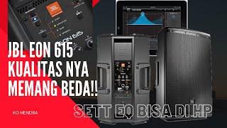 REVIEW SPEAKER AKTIF JBL EON 615 | JBL Tiada Dua Nya !!