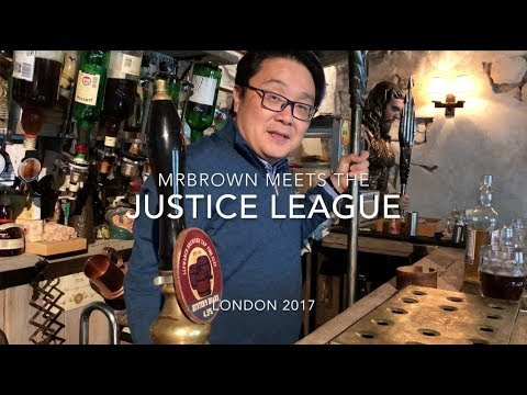 mrbrown meets the Justice League
