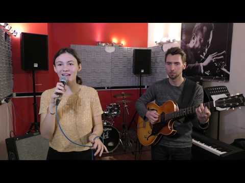 Chiara sings TAKE THE A TRAIN An up-tempo piece with swing feel