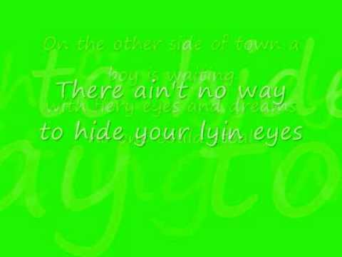 Lying Eyes - Eagles COVER WITH LYRICS