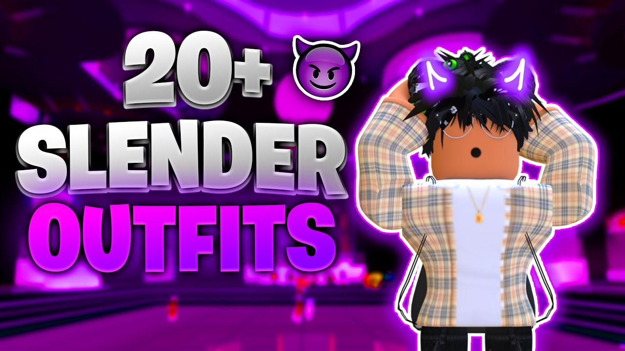 Top 20 Chill Roblox Slender Outfits Of 2021 Boy Outfits Youtube