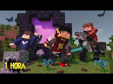 Minecraft: HARDCORE #9 - ESPECIAL 1 HORA, FIZEMOS TUDO ‹ AM3NIC ›