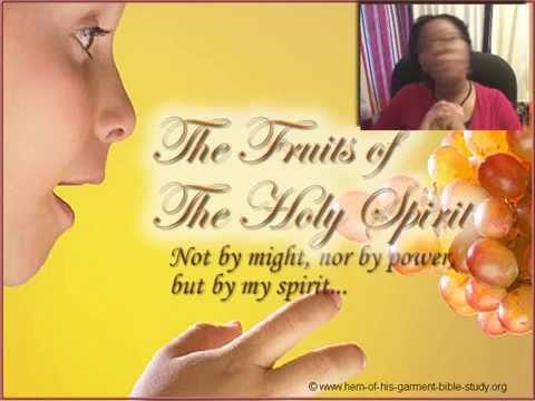 Fruit of the Holy Spirit Bible Study Online: Lesson 1