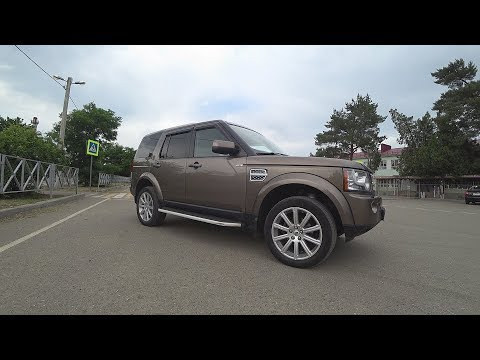 Год владения  Land Rover Discovery 4   2,7 дизель  Ленд Ровер Дискавери 4  2011 г