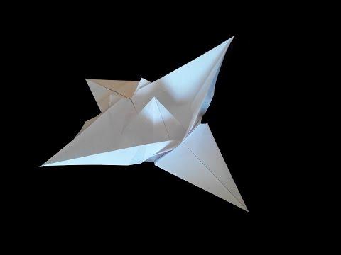 Как сделать из бумаги летучий корабль