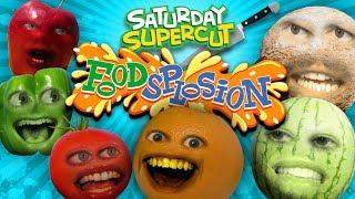 Annoying Orange - Foodsplosion Supercut!