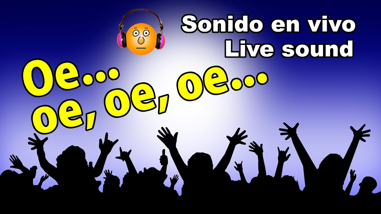 oe oe oe oe sonido en vivo live sound youtube