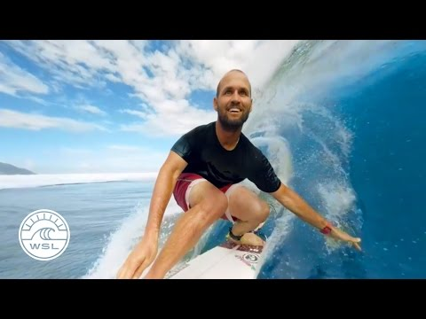 Get Barreled in Tahiti with C.J. Hobgood & Samsung Gear VR 360