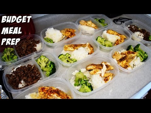 Budget Meal Prep As A College Student!