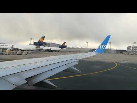 AirEuropa-Take-off From Frankfurt Airport