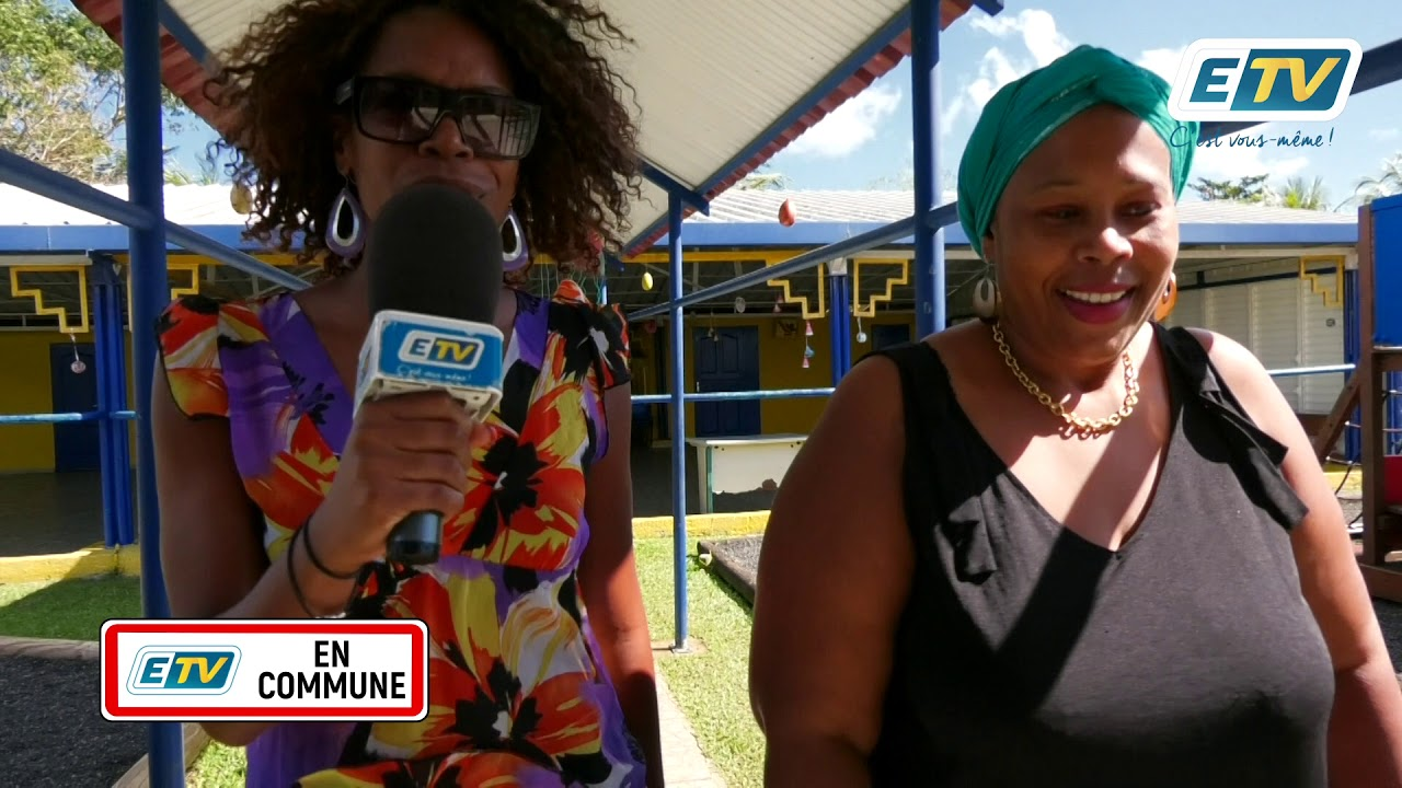 ETV en Commune, les amis de la natation à Baie Mahault
