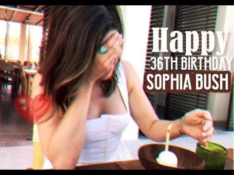 Happy 36th Birthday, Sophia Bush♡