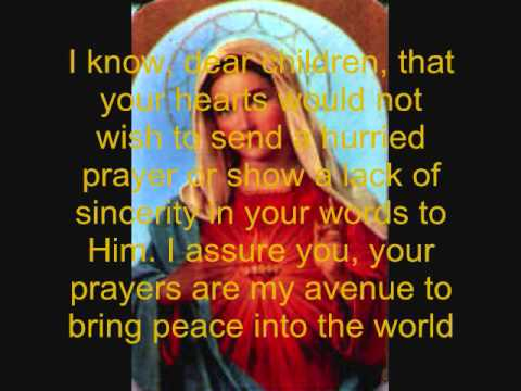 33 Day Consecration to The Immaculate Heart of Mary.