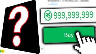 THE MOST EXPENSIVE ITEM IN ROBLOX??